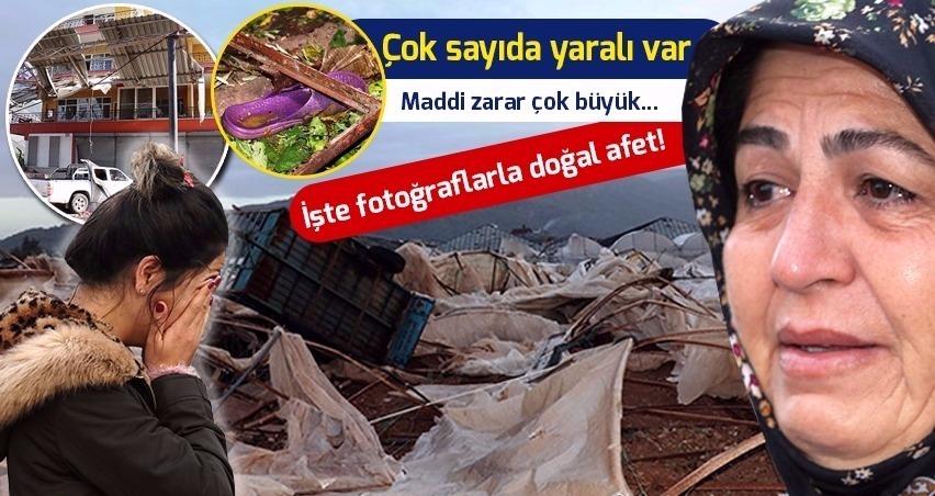 Hortum Antalya ve Mersin'i vurdu!