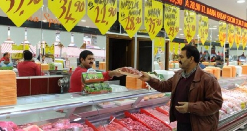 Et fiyatları yüzde 10-15 geriledi