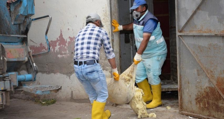 10 ton peynir imha edildi