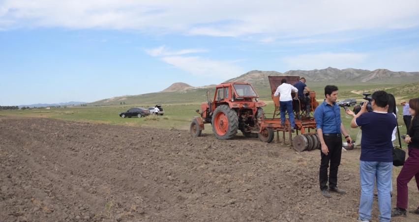 Moğolistan'da tarım ve hayvancılık sektörüne destek devam ediyor