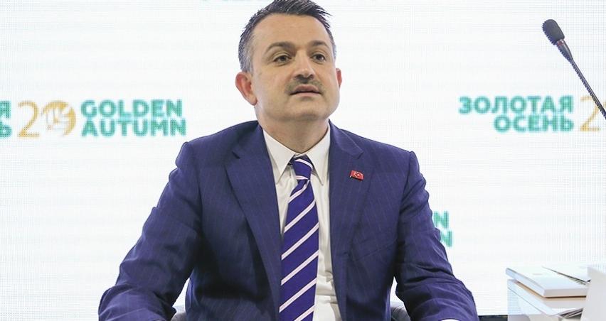 Pakdemirli: Türkiye'de para var ki ithalat yapabiliyor!
