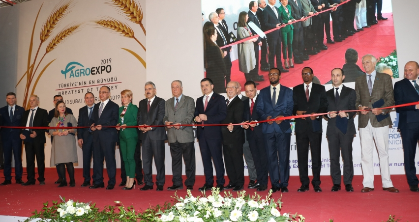 İzmir 14.Agroexpo kapılarını açtı