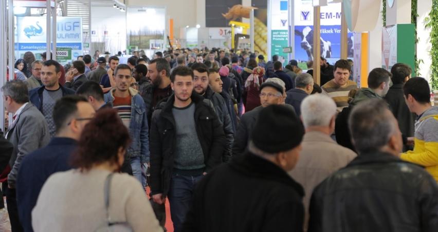İzmir Agroexpo'da ziyaretçi rekoru kırıldı