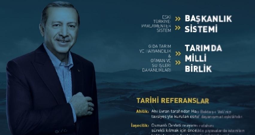 Cumhurbaşkanı Erdoğan Tarımda Milli Birlik Projesi'ni erteledi