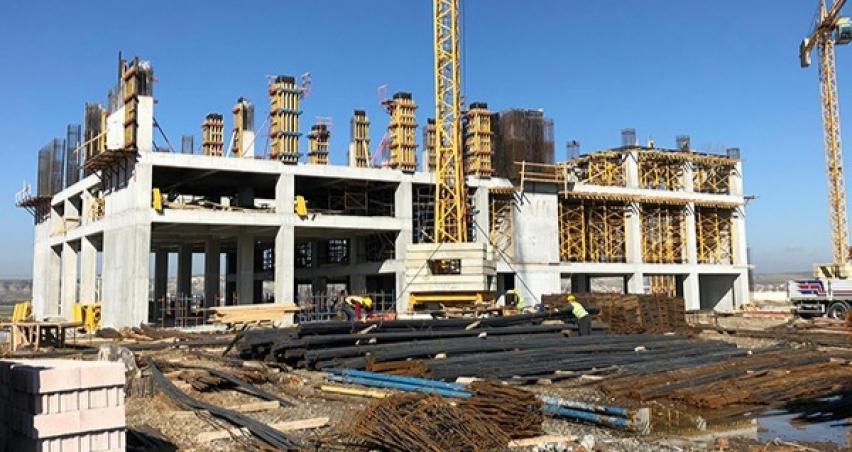 Polatlı'da Proyem fabrikasının inşaatı sürüyor