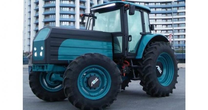 Elektrikli traktör için seri üretim mesajı