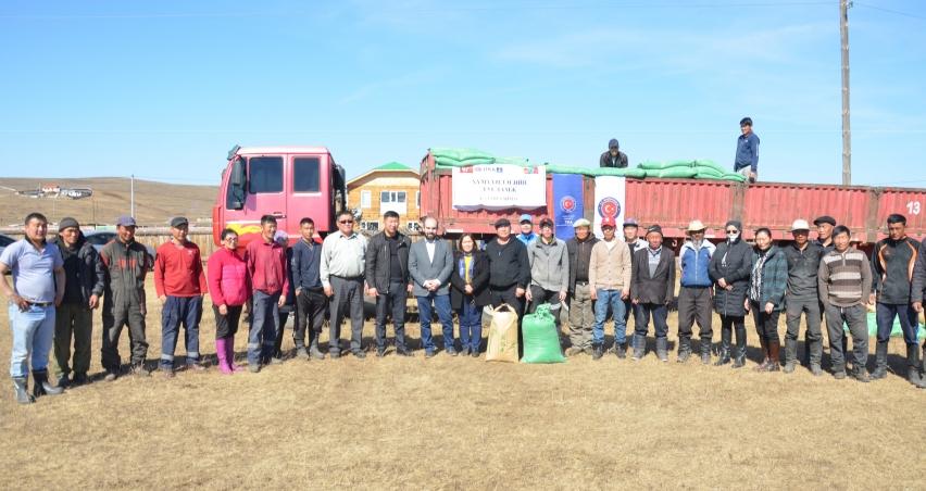 TİKA'dan Moğolistan'daki hayvancılık projelerine destek
