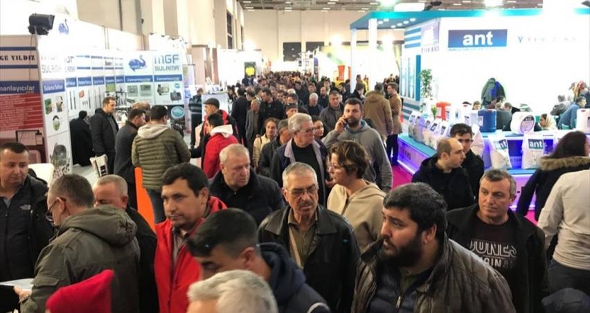 İzmir Agroexpo'yu 300 bine yakın ziyaretçi