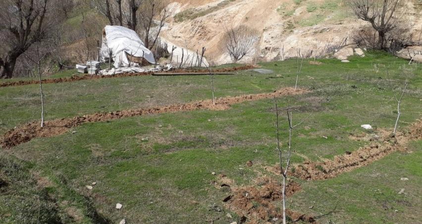 Kapama ceviz bahçesi almayı hak kazanan çiftçiler kura ile belirlendi