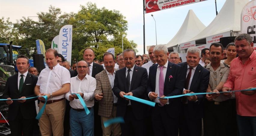 Edirne Gıda Tarım Hayvancılık ve Sanayi Fuarı 17'nci kez kapılarını açtı