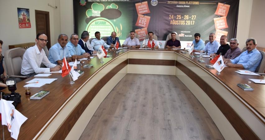Aksaray'da hayvancılık süt ve et teknolojileri fuarı açılacak