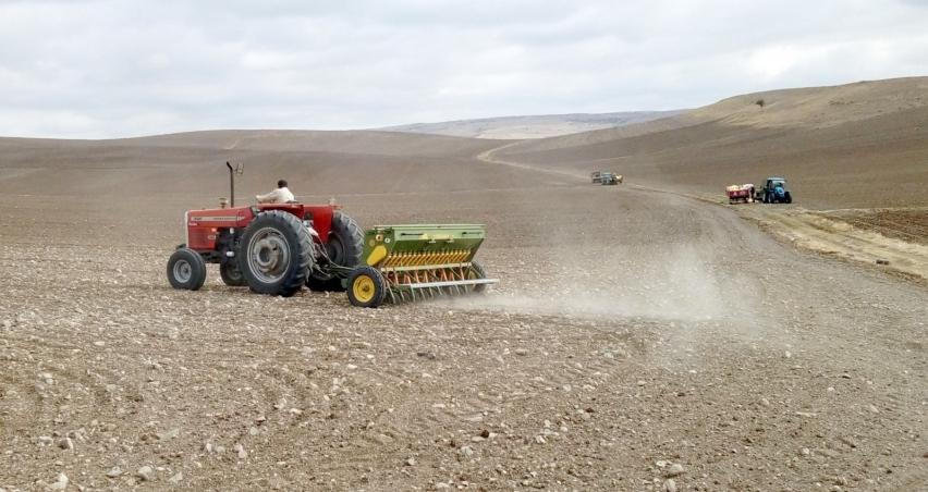 Yozgat'ta hububat ekimi başladı