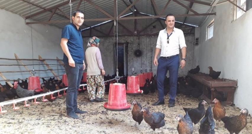 Kütahya'da 30 çiftçiye 30'ar bin lira destek!