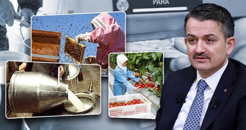 Bakan Pakdemirli'den çiftçiye bayram müjdesi