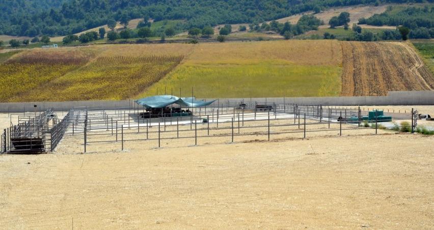 Tokat'a 90 dönümlük besi çiftliği