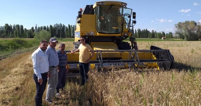 Tarım Müdürlüğü ekipleri, biçerdöver denetimlerini artırdı