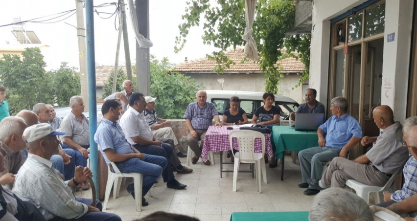 Manavgat'ta iyi tarım uygulaması anlatıldı